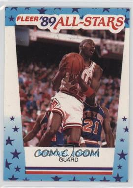 1989-90 Fleer All-Stars Stickers #3 - Michael Jordan