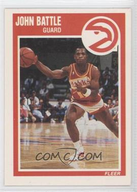 1989-90 Fleer #1 - John Battle