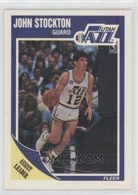 1989-90 Fleer #156 - John Stockton
