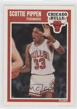 1989-90 Fleer #23 - Scottie Pippen