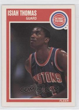 1989-90 Fleer #50 - Isiah Thomas