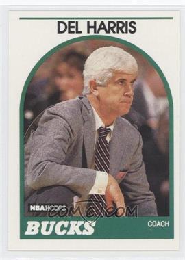 1989-90 NBA Hoops - [Base] #126 - Del Harris