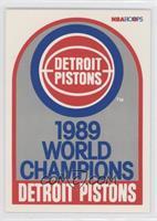 1989 World Champions Detroit Pistons