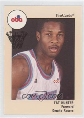 1989-90 ProCards CBA #69 - Tat Hunter