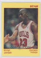 Michael Jordan (Yellow Border/Red Type)