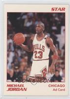 Michael Jordan White Border