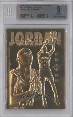 1990-00 Bleachers #N/A - Michael Jordan /25000 [BGS9]