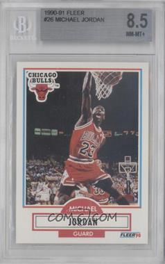 1990-91 Fleer - [Base] #26 - Michael Jordan [BGS8.5]