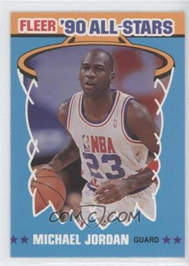 1990-91 Fleer All-Stars #5 - Michael Jordan