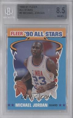 1990-91 Fleer All-Stars #5 - Michael Jordan [BGS 8.5]