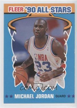 1990-91 Fleer All-Stars #5 - Michael Jordan