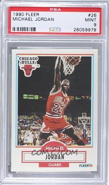 1990-91 Fleer #26 - Michael Jordan [PSA9]