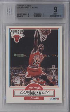 1990-91 Fleer #26 - Michael Jordan [BGS9]
