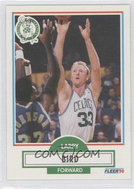 1990-91 Fleer #8 - Larry Bird