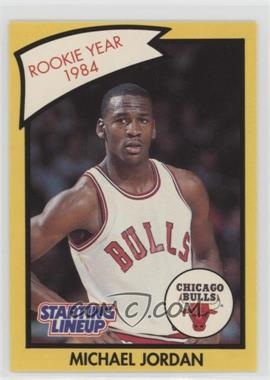 1990-91 Kenner Starting Lineup - [Base] #MIJO.2 - Michael Jordan (Yellow Border)