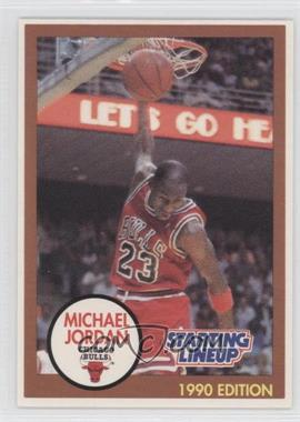 1990-91 Kenner Starting Lineup #MIJO.1 - Michael Jordan (Brown Border)
