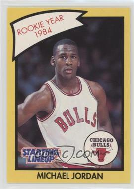 1990-91 Kenner Starting Lineup #MIJO.2 - Michael Jordan (Yellow Border)