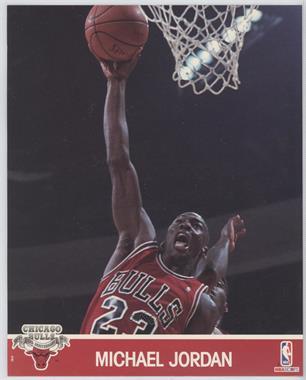 1990-91 NBA Hoops Action Photos #MIJO - Michael Jordan
