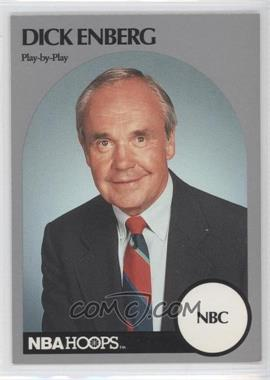 1990-91 NBA Hoops Announcers - [Base] #DIEN - Dick Enberg