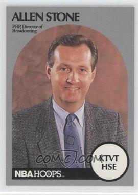1990-91 NBA Hoops Announcers [???] #N/A - Alex Stivrins