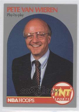 1990-91 NBA Hoops Announcers #PEVW - Pete Van Wieren
