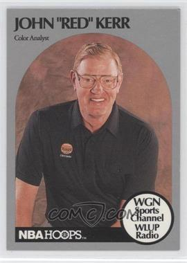1990-91 NBA Hoops Announcers #REKR - Red Kerr