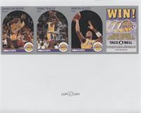 James Worthy, Terry Teagle, Byron Scott