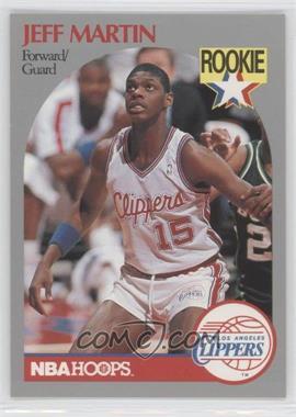 1990-91 NBA Hoops #148 - Jeff Martin