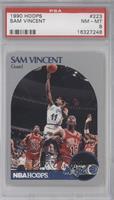 Sam Vincent, Michael Jordan (Michael wearing #12 Jersey) [PSA8]