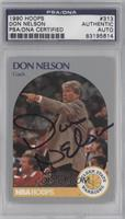 Don Nelson [PSA/DNA Certified Auto]