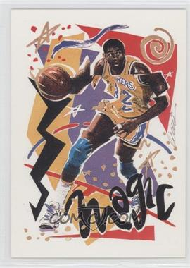 1990-91 NBA Hoops #367 - Magic Johnson