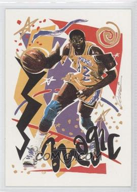 1990-91 NBA Hoops #367 - Magic Johnson