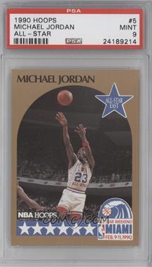 1990-91 NBA Hoops #5 - Michael Jordan [PSA9]