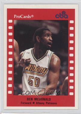 1990-91 ProCards CBA - [Base] #157 - Ben McDonald