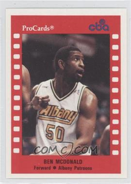 1990-91 ProCards CBA #157 - Ben McDonald