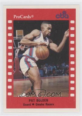 1990-91 ProCards CBA #6 - Pat Bolden
