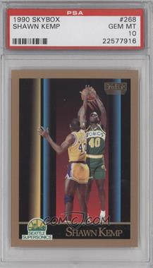 1990-91 Skybox - [Base] #268 - Shawn Kemp [PSA 10]