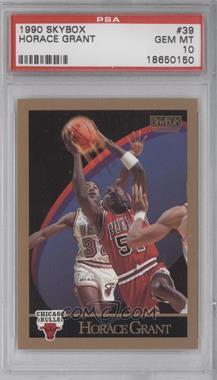 1990-91 Skybox - [Base] #39 - Horace Grant [PSA10]