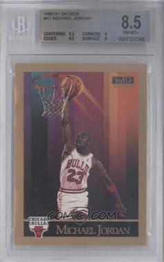 1990-91 Skybox - [Base] #41 - Michael Jordan [BGS8.5]