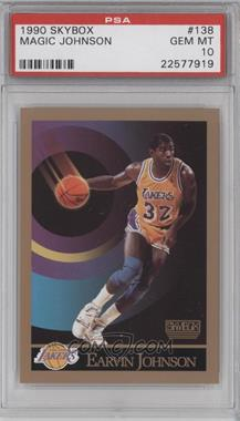 1990-91 Skybox #138 - Magic Johnson [PSA 10]