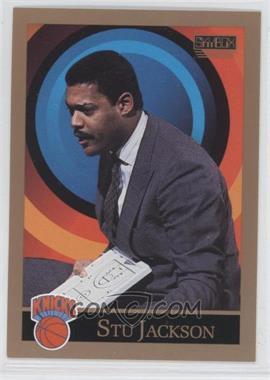 1990-91 Skybox #318 - Stu Jackson
