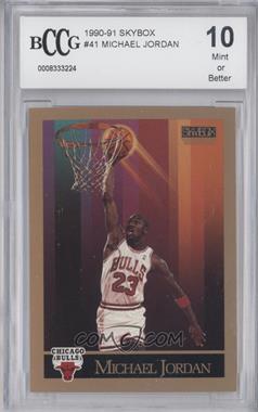 1990-91 Skybox #41 - Michael Jordan [ENCASED]