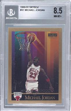 1990-91 Skybox #41 - Michael Jordan [BGS8.5]