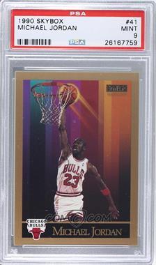 1990-91 Skybox #41 - Michael Jordan [PSA9]