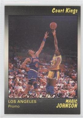 1990-91 Star Court Kings Promos #MAJO - Magic Johnson /400