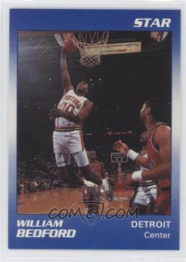 1990-91 Star Home Respiratory Health Care, Inc. Detroit Pistons #2 - William Bedford
