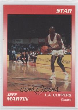 1990-91 Star Kudos Los Angeles Clippers [???] #N/A - Jeff Martin