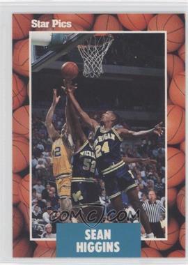 1990 Star Pics - [Base] #14 - Sean Higgins