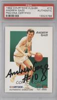 Andrew Gaze [PSA/DNA Certified Auto]