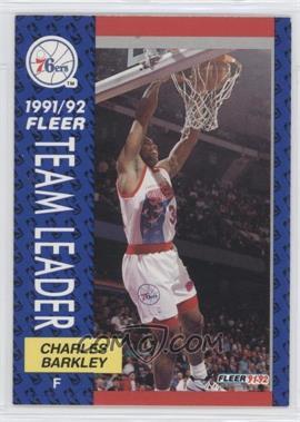 1991-92 Fleer - [Base] #391 - Charles Barkley
